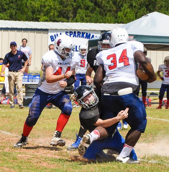 East Texas Christian Academy plays first-ever Six Man home football game