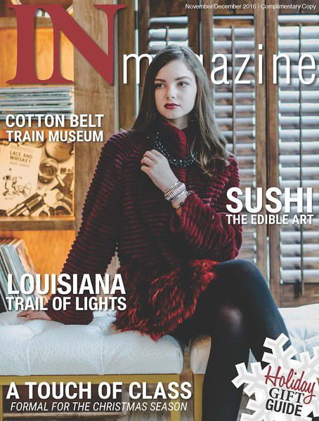 IN Magazine includes Cotton Belt Depot Museum, Patrick Mahomes, fur coats