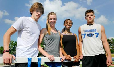Grace's Clayton breaks own hurdles records at TAPPS state meet