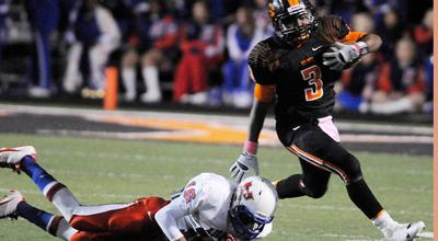 Gilmer beats Henderson, takes 16-3A title