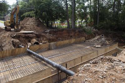 VIDEO: Work underway to replace culvert near Tyler Junior College