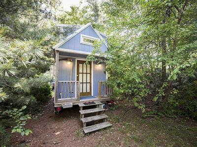 Tiny house can bring big benefits: Freedom from a mortgage - and from stuff