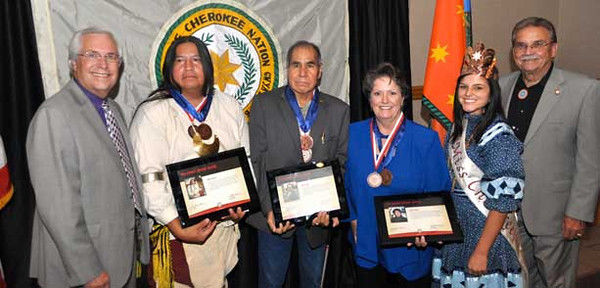 Tylerite honored by Cherokee Nation for art and culture contributions