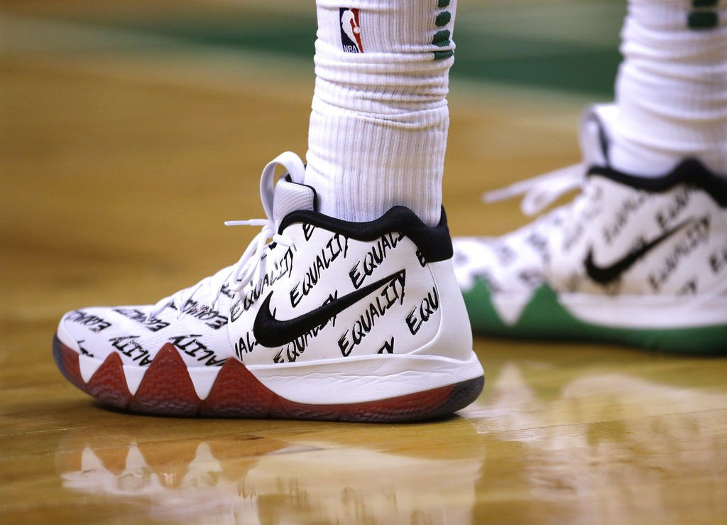 NBA players step toward equality in limited edition sneakers ... 9210edaa2