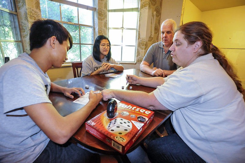 International students, host families learn each other's culture