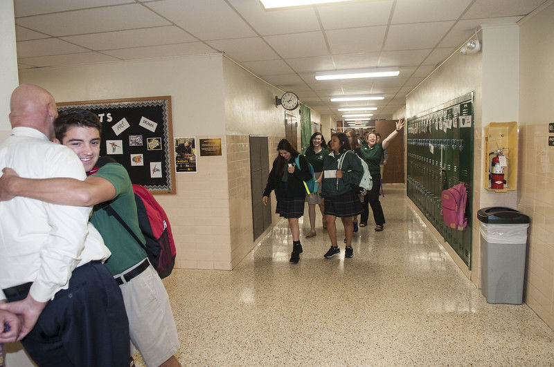 St. Gregory and Bishop T.K. Gorman first in Tyler to welcome students back to school on Wednesday