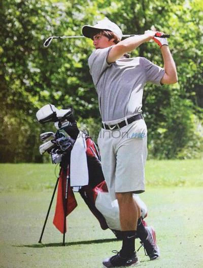 Van's Lockwood already a steady golfer at 17