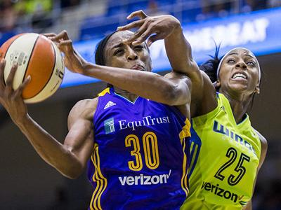 Ogwumike breaks WNBA record making all 12 FG attempts in Los Angeles Sparks win over Dallas Wings