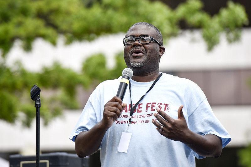 Third annual Praise Fest at T. B. Butler Fountain Plaza