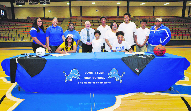 John Tyler athletes sign to play college ball
