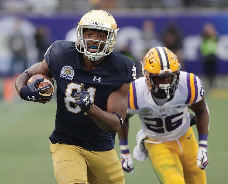 Boykin big play rallies Notre Dame to 21-17 Citrus Bowl win over LSU