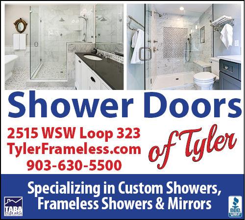 Shower Door of Tyler