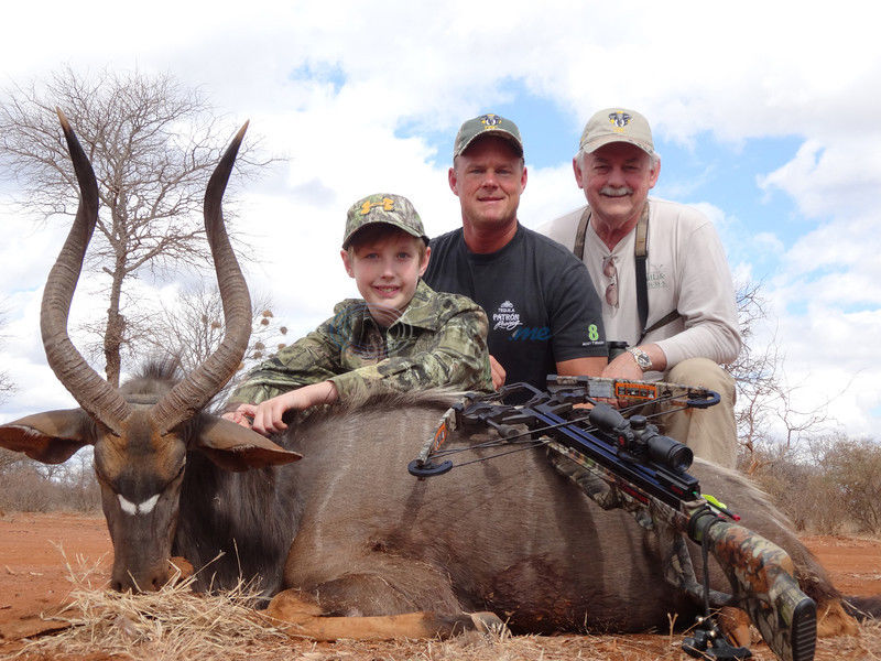 Tyler Hunter, Son Take South African Game With Bows And Guns