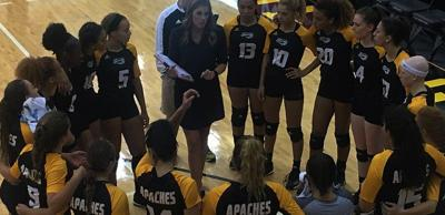 Volleyball: TJC wins division