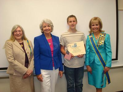 Lindale eighth-grader wins essay contest