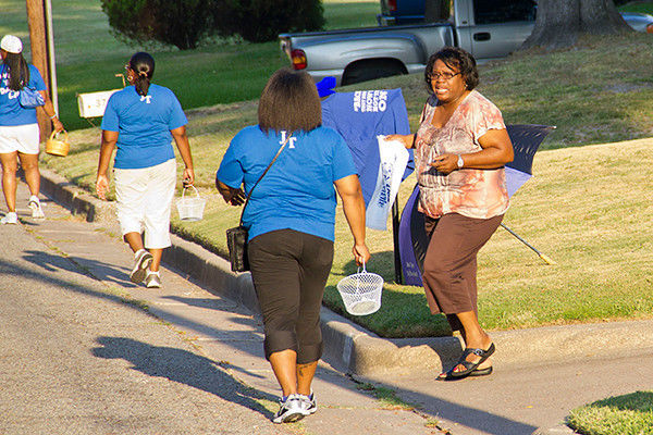 VIDEO: John Tyler Big Blue Band Performing March-a-Thon