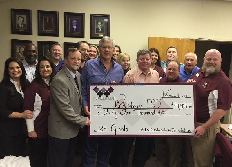 Whitehouse ISD Education Foundation doubles donations in second year