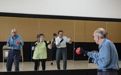 Parkinson's disease patients find physical, mental benefits in Rock Steady Boxing program