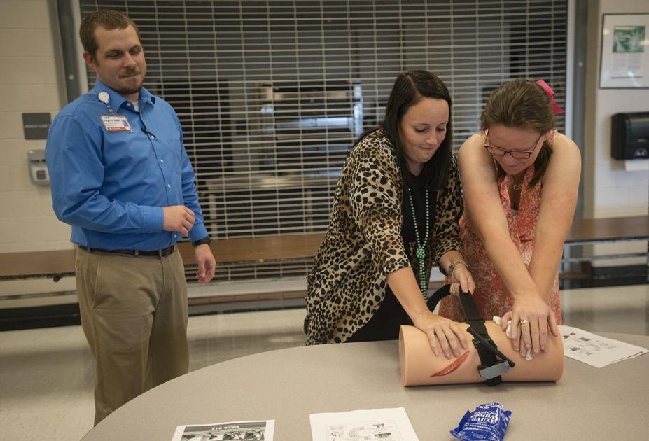 Winona ISD employees get emergency first aid training
