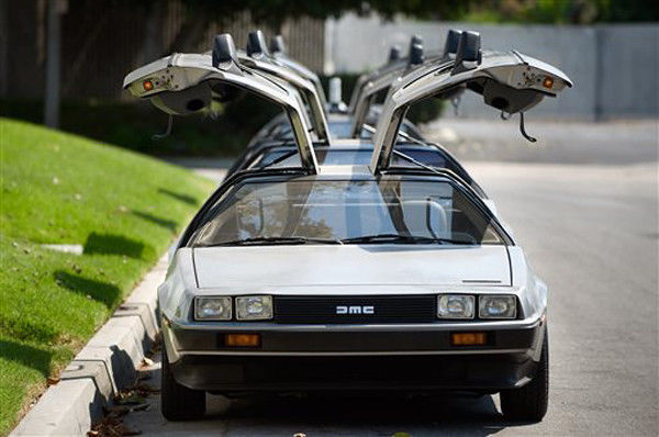 DeLoreans getting 'Back to the Future' makeovers