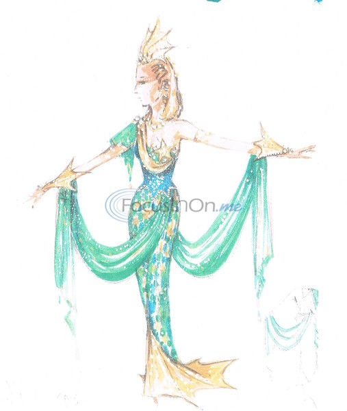Coronation costumes geared to theme