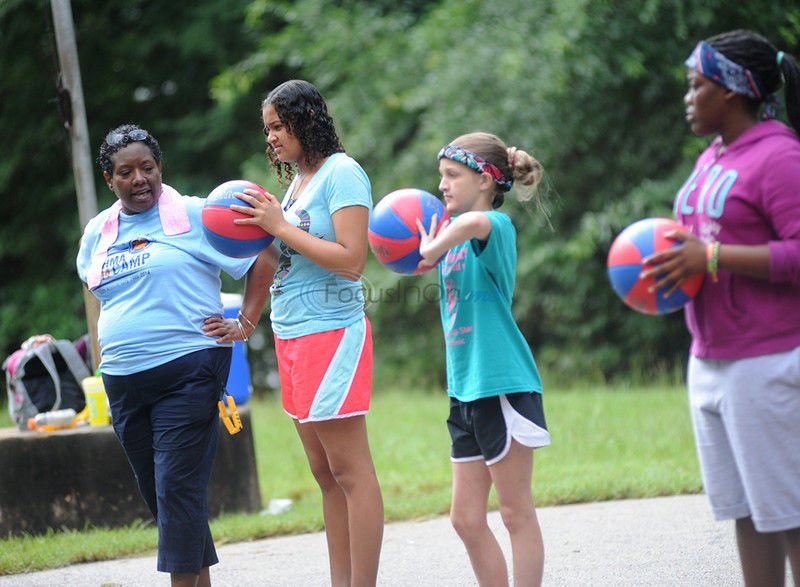 Camp teaches children how to cope with their asthma