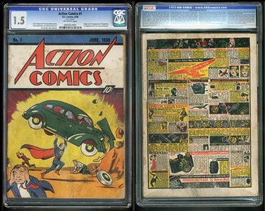 Rare Superman comic found in house insulation