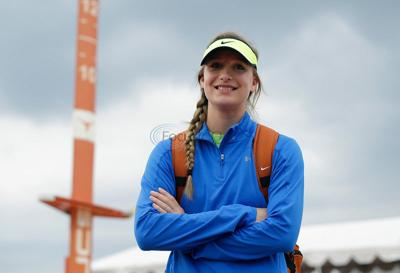 Legally blind, Rains' Brown one of state's top vaulters