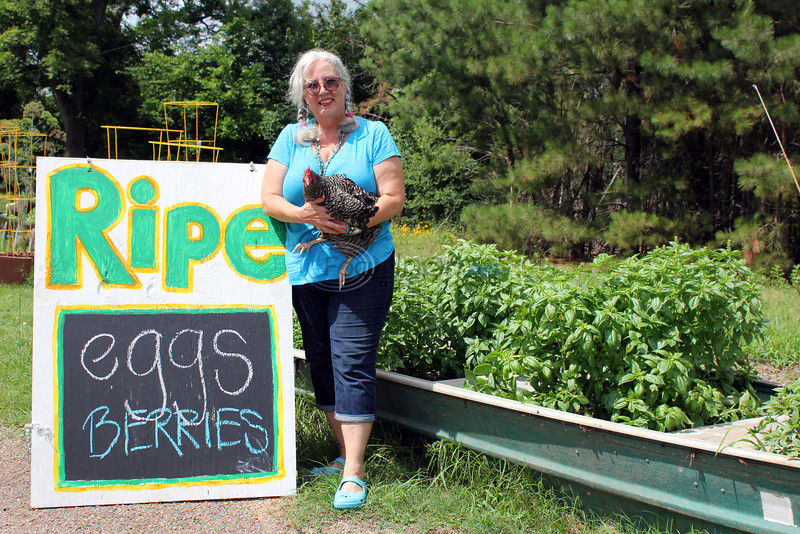 Ripe for the picking: Business woman embraces change