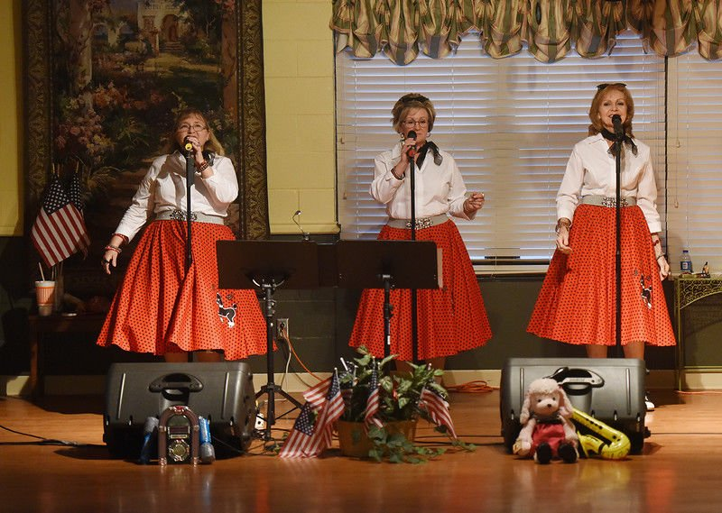 New East Texas trio transports audiences back to era of Doo Wop music