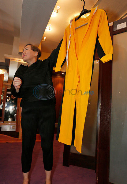 Bruce Lee's famous yellow jumpsuit up for auction