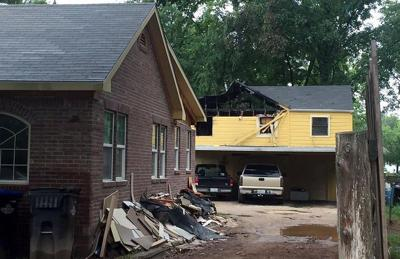 Five Longview residents displaced by a fire