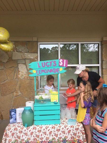 Lucy's Lemonade Stand raising money for East Texas Crisis Center through Friday