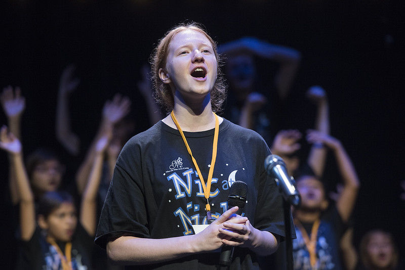 Students strengthen faith, acting and singing skills through fine arts camp at Marvin United Methodist Church