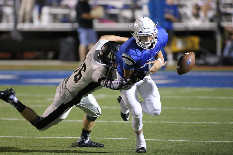 Lindale squeaks by Kaufman with late TD, 42-39