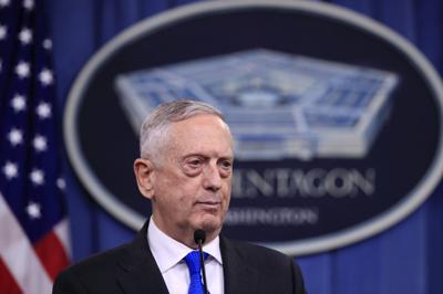 Pentagon Mattis Dunford