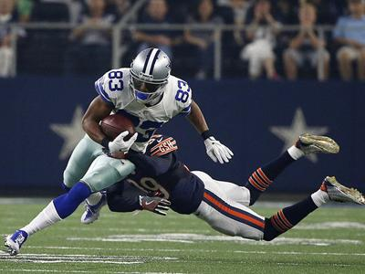 Dez Bryant, Cole Beasley and Terrance Williams all become targets for Cowboys rookie QB Dak Prescott