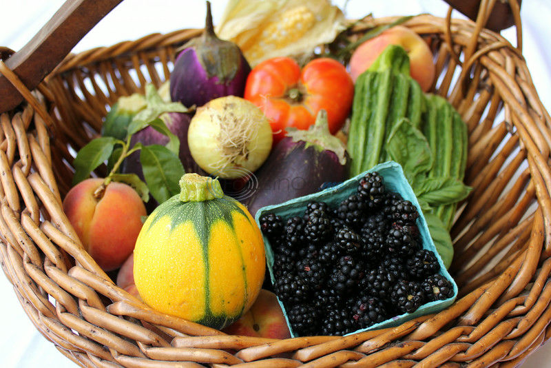 Summer Food Fresh-Picked and On Your Plate