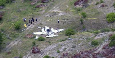 APTOPIX Texas Fatal Plane Crash