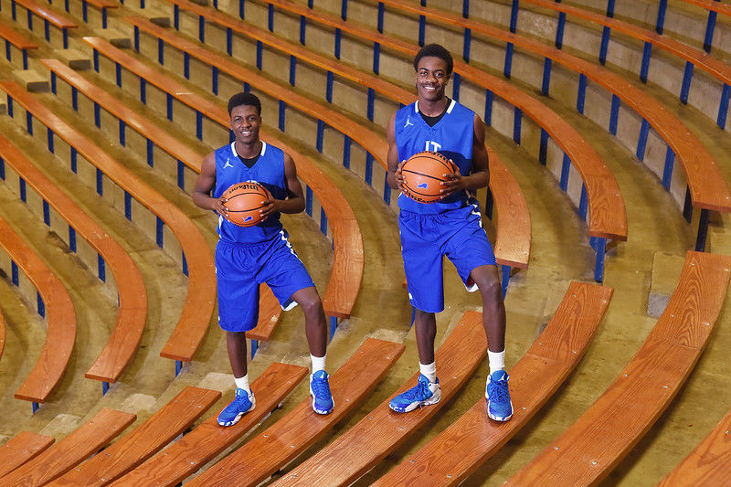 Moore & Moore: Brothers helping John Tyler, each other excel on court