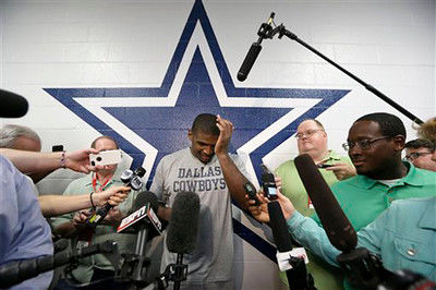 Cowboys release Michael Sam from practice squad