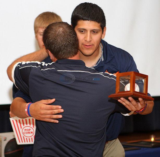 UT Tyler honors senior baseball players