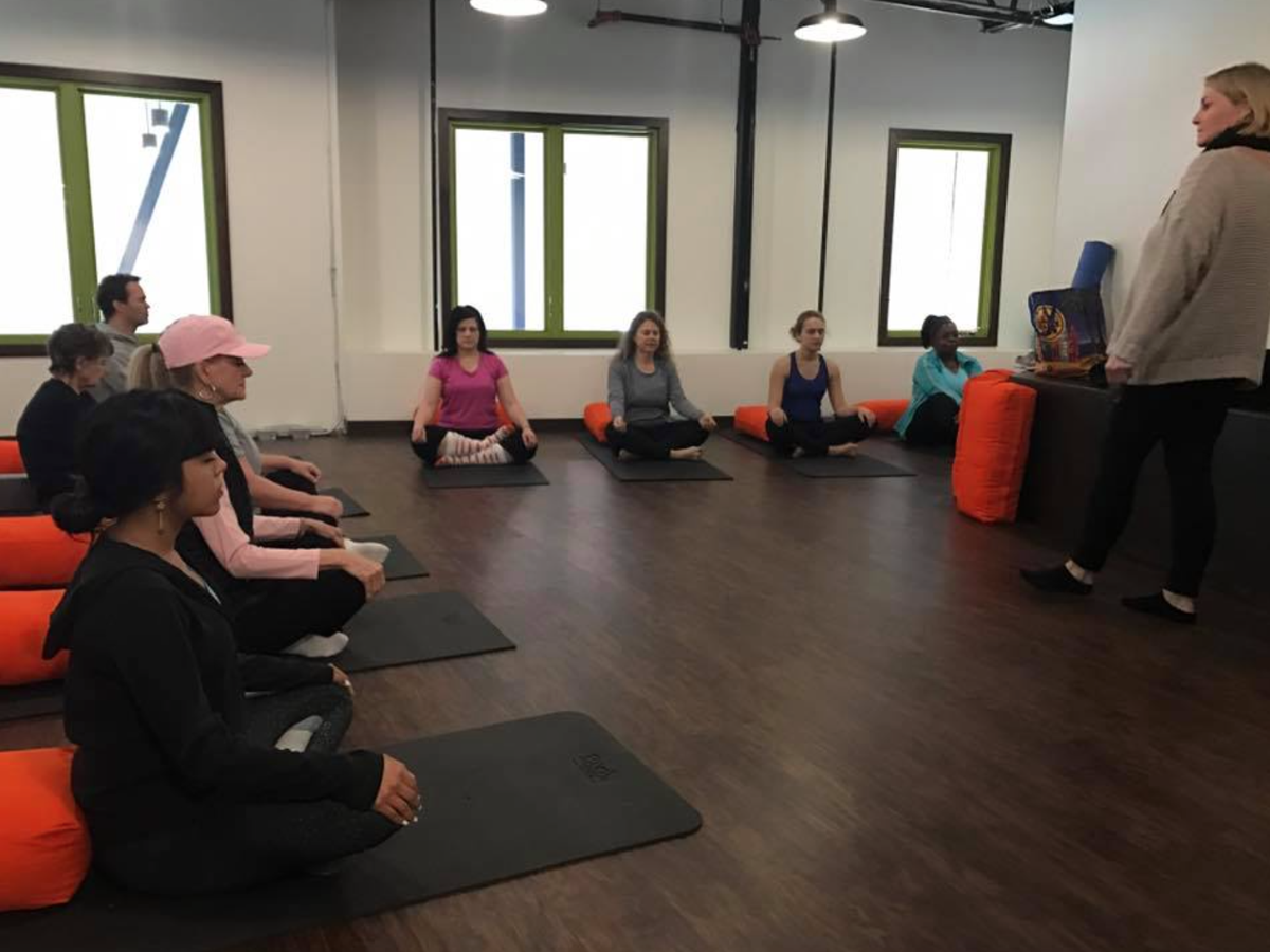 East Texans Enjoy Yoga Lectures And Food At Integrative