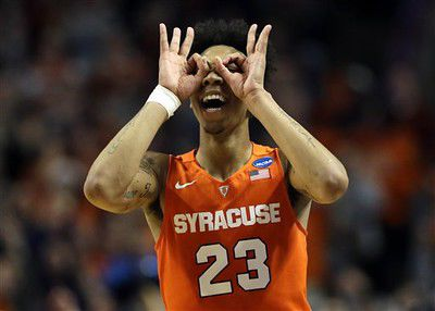 TIPPING OFF: Yes, it's Syracuse (and OU, 'Nova and Heels)