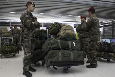 Paris air travel proceeds, but some cancel future visits