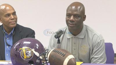 Blackshear introduced as new Texas College coach