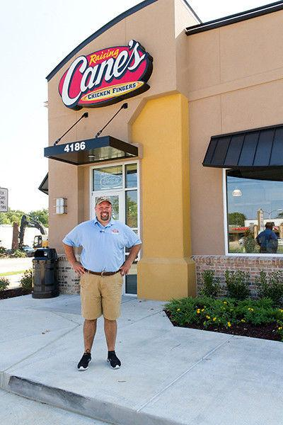 VIDEO: Raising Cane's opens Thursday