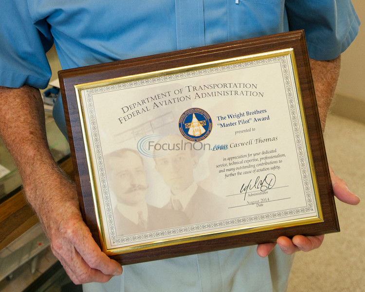 Flying High: Tyler man honored after five decades in cockpit