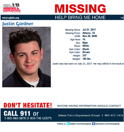 Missing Athens teen last seen July 21 | Local News