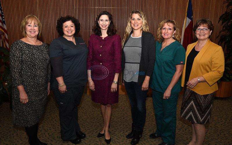Director of ETMC's Sexual Assault Nurse Examiner program honored